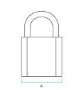 open-shackle-padlock-dimensions